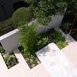 モダンタイルテラスのお庭リフォーム