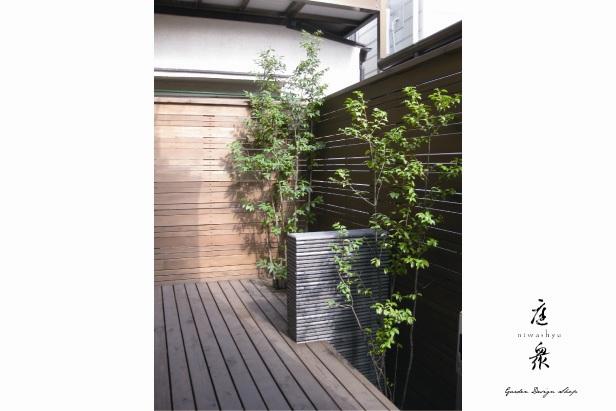 狭小スペースを上手く利用するガーデンデザイン