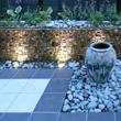 ゆったり、音と光を楽しむ庭